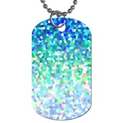 Mosaic Sparkley 1 Dog Tag (one Side) by MedusArt