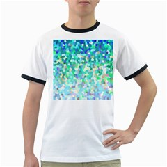 Mosaic Sparkley 1 Ringer T Shirts by MedusArt