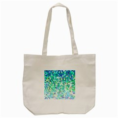Mosaic Sparkley 1 Tote Bag (cream)  by MedusArt