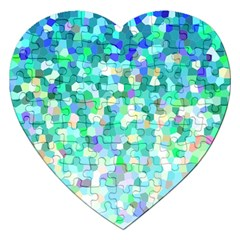 Mosaic Sparkley 1 Jigsaw Puzzle (heart) by MedusArt