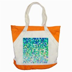 Mosaic Sparkley 1 Accent Tote Bag  by MedusArt
