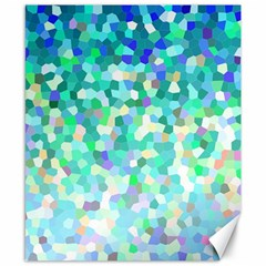 Mosaic Sparkley 1 Canvas 8  X 10  by MedusArt