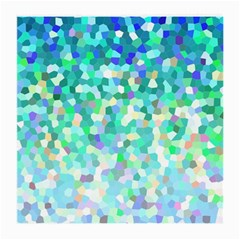 Mosaic Sparkley 1 Medium Glasses Cloth (2 Side) by MedusArt