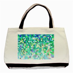 Mosaic Sparkley 1 Basic Tote Bag (two Sides)