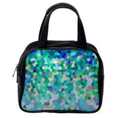 Mosaic Sparkley 1 Classic Handbags (one Side) by MedusArt