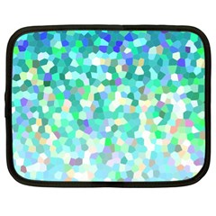 Mosaic Sparkley 1 Netbook Case (xl)  by MedusArt