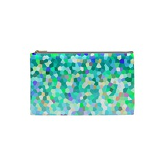 Mosaic Sparkley 1 Cosmetic Bag (small)  by MedusArt
