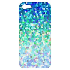 Mosaic Sparkley 1 Apple Iphone 5 Hardshell Case by MedusArt
