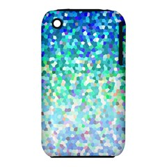 Mosaic Sparkley 1 Apple Iphone 3g/3gs Hardshell Case (pc+silicone) by MedusArt