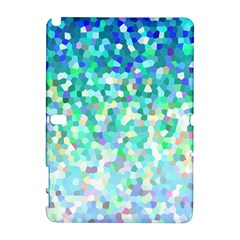 Mosaic Sparkley 1 Samsung Galaxy Note 10 1 (p600) Hardshell Case by MedusArt