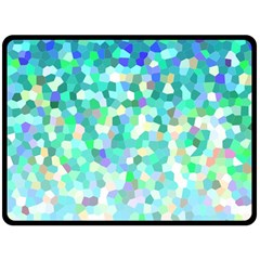 Mosaic Sparkley 1 Double Sided Fleece Blanket (large)  by MedusArt