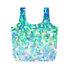 Mosaic Sparkley 1 Full Print Recycle Bags (m)  by MedusArt