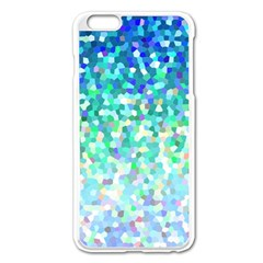 Mosaic Sparkley 1 Apple Iphone 6 Plus/6s Plus Enamel White Case by MedusArt