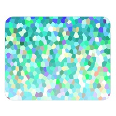 Mosaic Sparkley 1 Double Sided Flano Blanket (large)