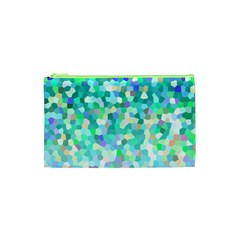 Mosaic Sparkley 1 Cosmetic Bag (xs) by MedusArt