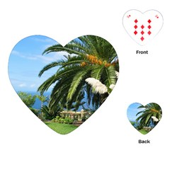 Sunny Tenerife Playing Cards (heart)