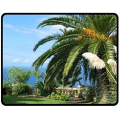 Sunny Tenerife Fleece Blanket (medium)