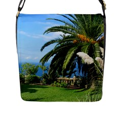 Sunny Tenerife Flap Messenger Bag (l)  by MoreColorsinLife