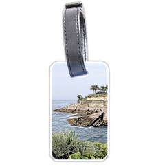Tenerife,painted Version Luggage Tags (one Side)