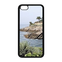 Tenerife,painted Version Apple Iphone 5c Seamless Case (black)
