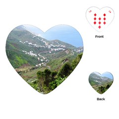 Tenerife 10 Playing Cards (heart)  by MoreColorsinLife