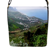 Tenerife 10 Flap Messenger Bag (l)  by MoreColorsinLife