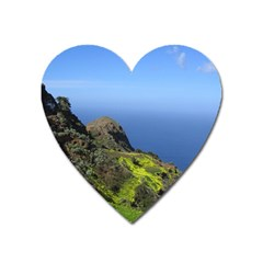 Tenerife 09 Heart Magnet by MoreColorsinLife
