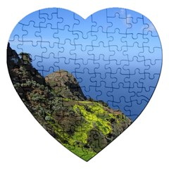 Tenerife 09 Jigsaw Puzzle (heart) by MoreColorsinLife