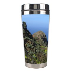 Tenerife 09 Stainless Steel Travel Tumblers by MoreColorsinLife