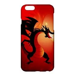 Funny, Cute Dragon With Fire Apple Iphone 6 Plus/6s Plus Hardshell Case by FantasyWorld7