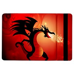 Funny, Cute Dragon With Fire Ipad Air 2 Flip by FantasyWorld7