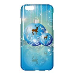 Wonderful Christmas Ball With Reindeer And Snowflakes Apple Iphone 6 Plus/6s Plus Hardshell Case by FantasyWorld7