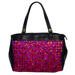 Polka Dot Sparkley Jewels 1 Office Handbags by MedusArt