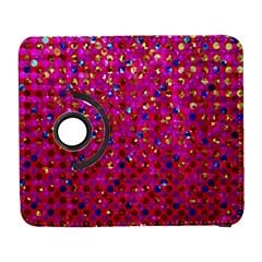 Polka Dot Sparkley Jewels 1 Samsung Galaxy S  Iii Flip 360 Case by MedusArt