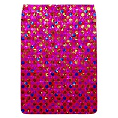 Polka Dot Sparkley Jewels 1 Flap Covers (s)  by MedusArt