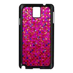 Polka Dot Sparkley Jewels 1 Samsung Galaxy Note 3 N9005 Case (black) by MedusArt