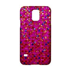 Polka Dot Sparkley Jewels 1 Samsung Galaxy S5 Hardshell Case  by MedusArt