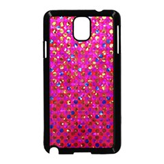 Polka Dot Sparkley Jewels 1 Samsung Galaxy Note 3 Neo Hardshell Case (black) by MedusArt