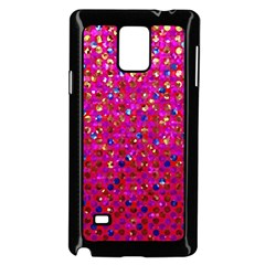 Polka Dot Sparkley Jewels 1 Samsung Galaxy Note 4 Case (black) by MedusArt