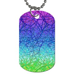 Grunge Art Abstract G57 Dog Tag (one Side) by MedusArt