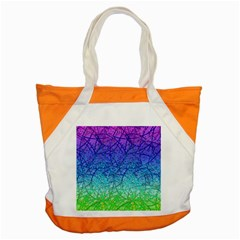 Grunge Art Abstract G57 Accent Tote Bag by MedusArt