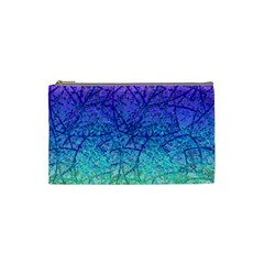 Grunge Art Abstract G57 Cosmetic Bag (small)  by MedusArt