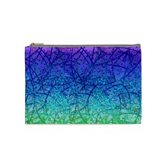 Grunge Art Abstract G57 Cosmetic Bag (medium)  by MedusArt