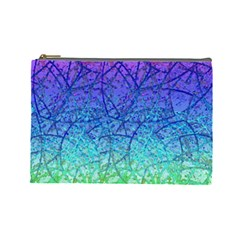 Grunge Art Abstract G57 Cosmetic Bag (large)  by MedusArt