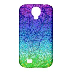 Grunge Art Abstract G57 Samsung Galaxy S4 Classic Hardshell Case (pc+silicone) by MedusArt