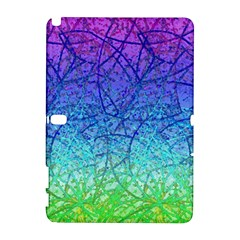 Grunge Art Abstract G57 Samsung Galaxy Note 10 1 (p600) Hardshell Case by MedusArt