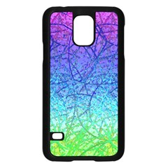 Grunge Art Abstract G57 Samsung Galaxy S5 Case (black) by MedusArt