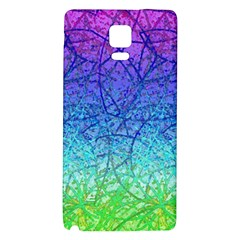 Grunge Art Abstract G57 Galaxy Note 4 Back Case by MedusArt