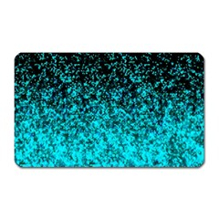 Glitter Dust G162 Magnet (rectangular) by MedusArt