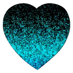 Glitter Dust G162 Jigsaw Puzzle (heart) by MedusArt